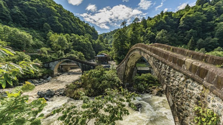 Uniting History of Anatolia: Bridges
