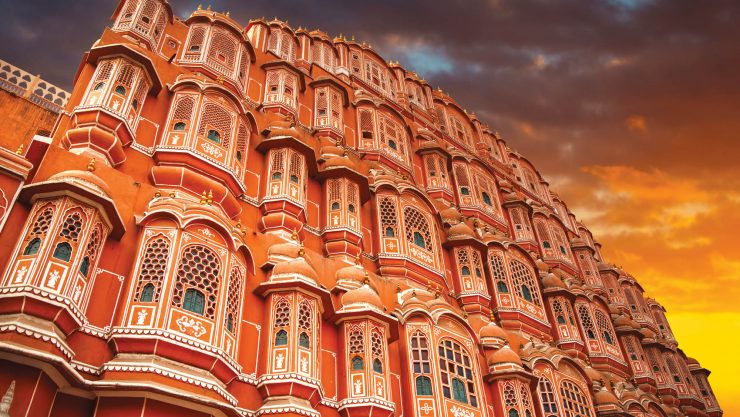 Pink City and Hawa Mahal