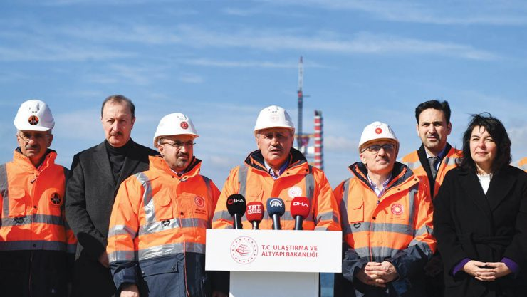 50% of The Çanakkale Bridge is Complete