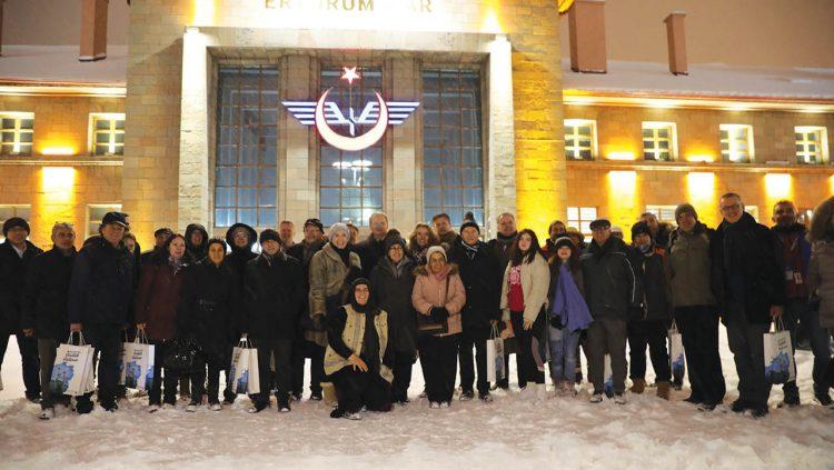 The EU Ambassadors Discovered Anatolia By The Touristic Eastern Express