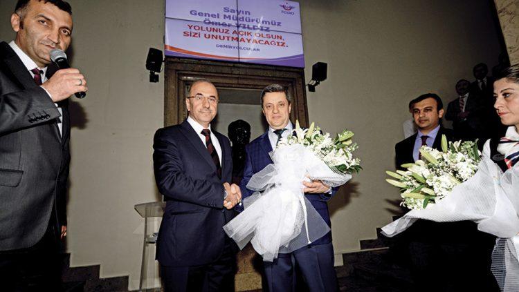 TCDD'DE GÖREV DEĞİŞİMİ