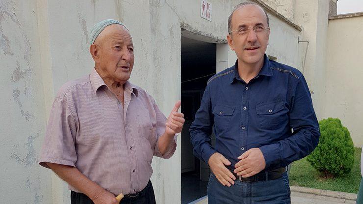 TCDD GENEL MÜDÜRÜ ASIRLIK DEMİRYOLCU İLE BULUŞTU