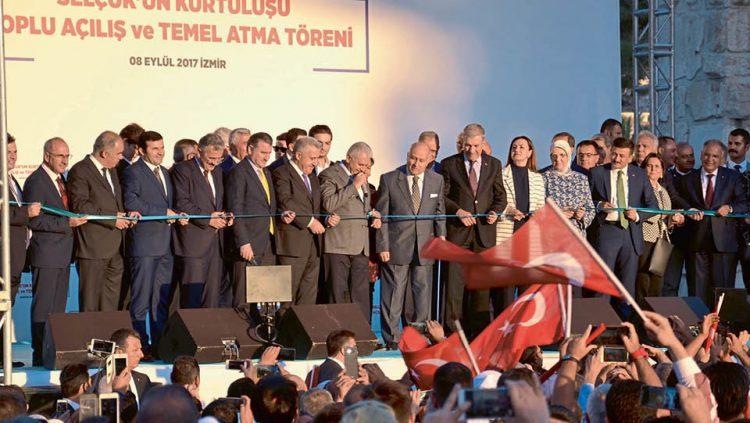 TCDD'NİN SELÇUK-TORBALI HATTI HİZMETE AÇILDI