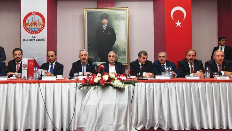 ŞANLIURFA'YA HIZLI TREN MÜJDESİ