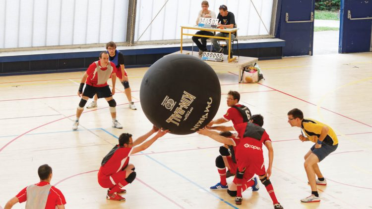 Kin-Ball Öğrenmeye Ne Dersiniz?