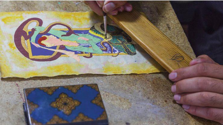 Savaştan Şenliğe, Osmanlı'nın Arşivi: Minyatür