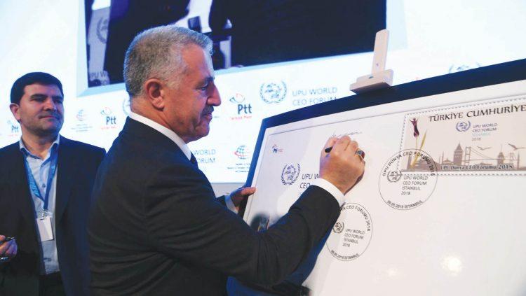 Bakan Arslan, UPU Dünya CEO Forumu'na Katıldı