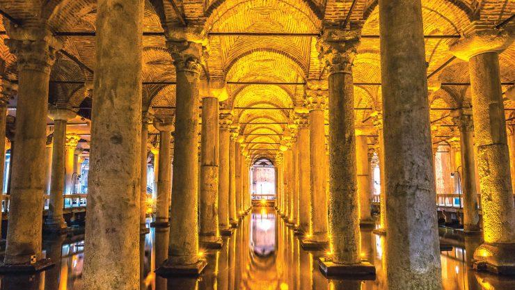 İstanbul'un Yeraltı Hazineleri: Sarnıçlar