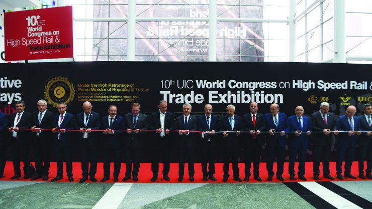 10. UIC Dünya Yüksek Hızlı Demiryolu Kongresi Gerçekleştirildi