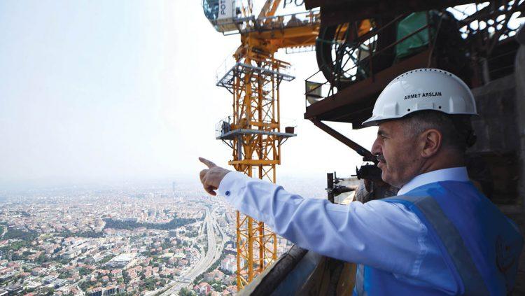 Çamlıca Kulesi Yılda 4,5 Milyon Misafir Ağırlayacak