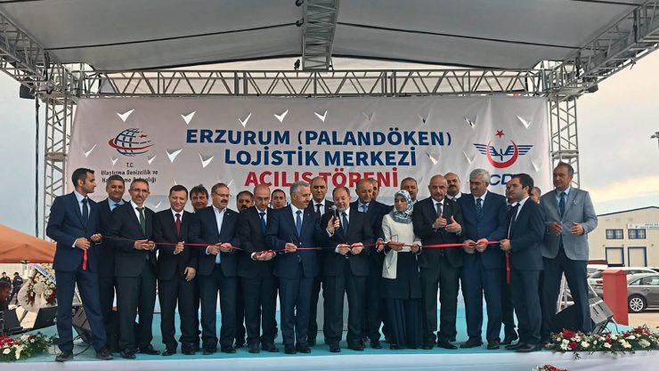 Erzurum Lojistik Merkezi Hizmete Açıldı