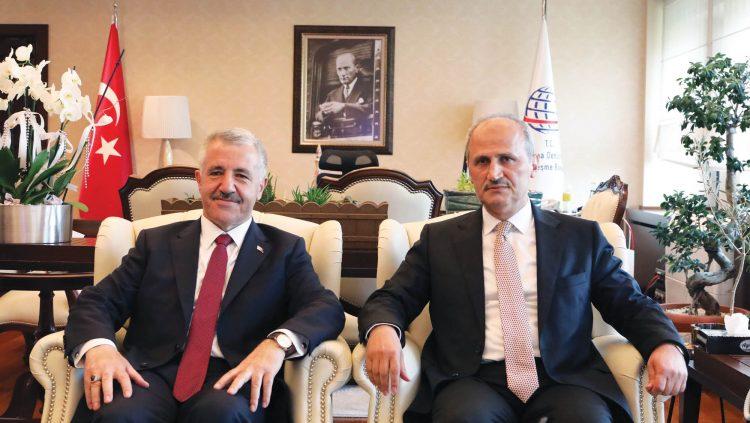 Ulaştırma ve Altyapı Bakanlığı'nda Cahit Turhan Dönemi
