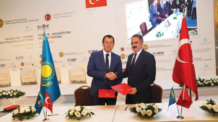 TCDD Taşımacılık AŞ-KTZ Stratejik İşbirliği Anlaşması İmzaladı