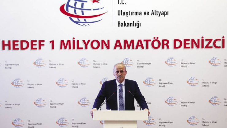 """Hedef 2023'te 1 Milyon Denizci"""