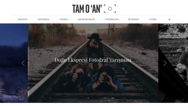 Tren Fotoğrafçılığının Yeni Adresi: Tam O 'An'