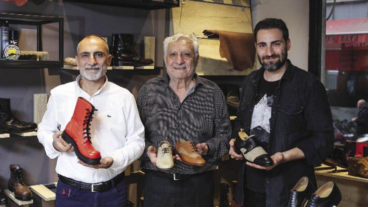 Ruhu Olan Ayakkabı Modelleri Tasarlıyor