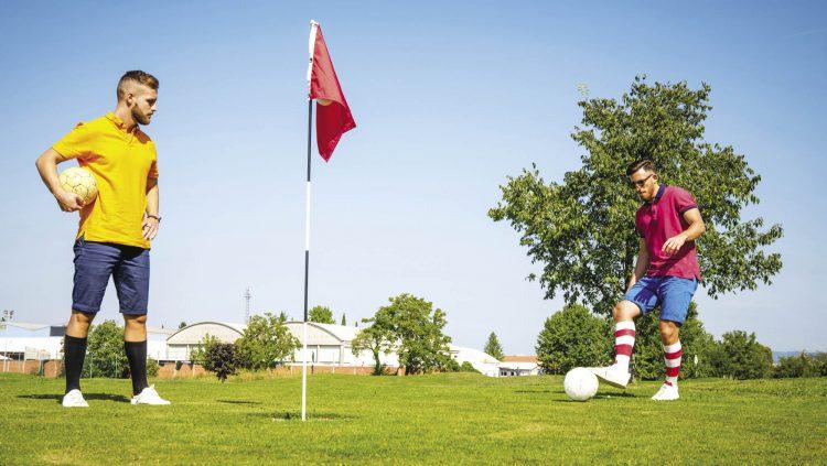 Futbol ve Golf Bir Arada