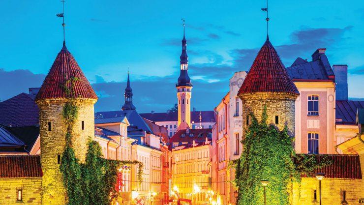Orta Çağda Kaybolmanın Keyfi: Tallinn