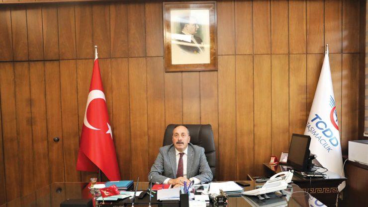 TCDD Taşımacılık Genel Müdürü Kamuran Yazıcı Görevine Başladı