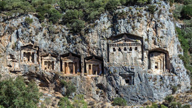 Doğanın Kayırdığı Antik Kent: Kaunos